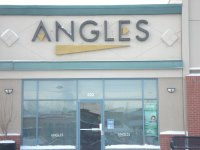 Store front for Angles Hair Design