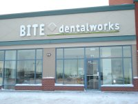 Store front for Bite Dental Works