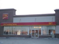 Store front for Canadian Imperial Bank of Commerce (CIBC)