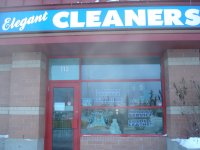 Store front for Elegant Dry Cleaning & Alterations