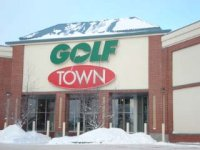 Store front for Golf Town