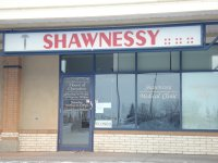 Store front for Shawnessy Medical Clinic