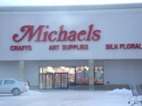 Store front for Michael's