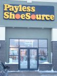 Store front for Payless Shoe Source
