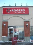 Store front for Rogers Wireless