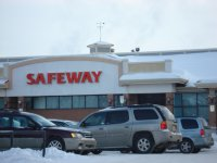 Store front for Safeway Canada