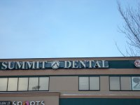 Store front for Summit Dental