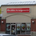 Store front for Edible Arrangements