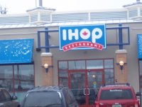 Store front for IHOP Restaurant